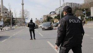 Beşiktaş'ta sokağa çıkma kısıtlaması denetimi yapıldı