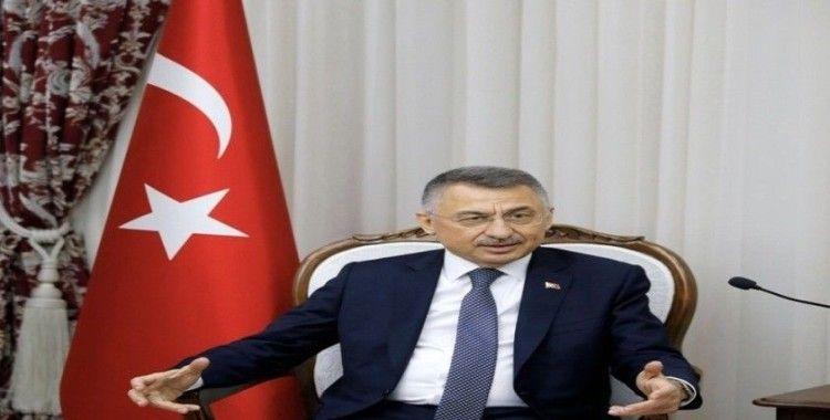 Cumhurbaşkanı Yardımcısı Oktay'dan bildiri tepkisi