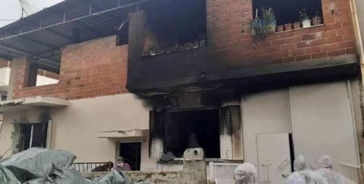 Söke'de ev yangını