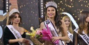 Lübnan'daki güzellik yarışmasında Türk manken üçüncü oldu