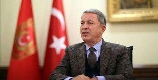 Milli Savunma Bakanı Akar: TSK'nın başarılarını görmeyen, görmek istemeyen, hırs, ihtiras ve haset ile körleşenlerdir