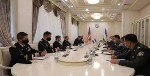ABD askeri heyeti Özbekistan'da