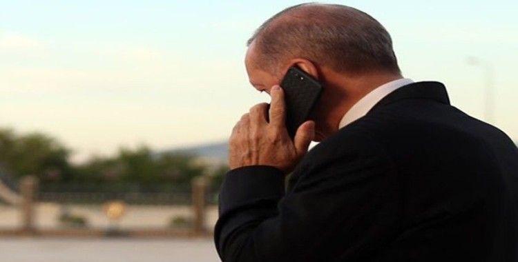 Cumhurbaşkanı Recep Tayyip Erdoğan, Ürdün Kralı 2. Abdullah ile bir telefon görüşmesi gerçekleştirdi
