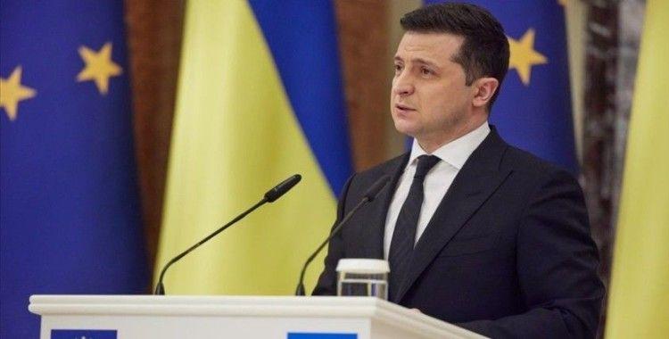 Ukrayna Devlet Başkanı Zelenskiy: 'NATO Donbas'taki savaşı bitirmek için tek yol'