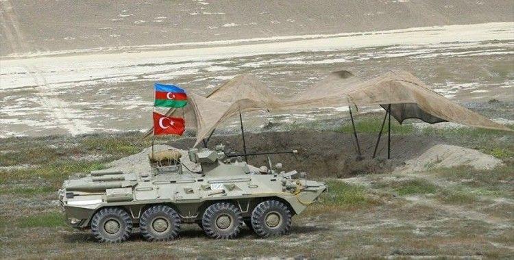 Azerbaycan ve Türkiye muhabere birliklerinin ortak tatbikatı başladı
