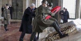 BM 75. Genel Kurul Başkanı Bozkır Anıtkabir'i ziyaret etti