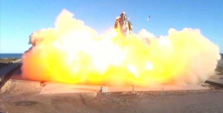 SpaceX, Starship mekiğinin 30 Mart'taki fırlatma testinde yakıt sızıntısı sonucu infilak ettiğini açıkladı
