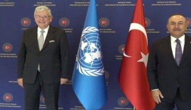 Bakan Çavuşoğlu, Bozkır ile görüştü