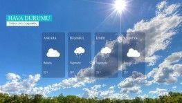 Yarın kara ve denizlerimizde hava nasıl olacak? 7 Nisan 2021 Çarşamba