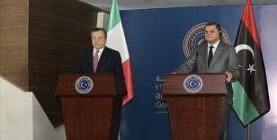 İtalya Başbakanı Draghi ilk yurt dışı ziyaretini Libya'ya yaptı