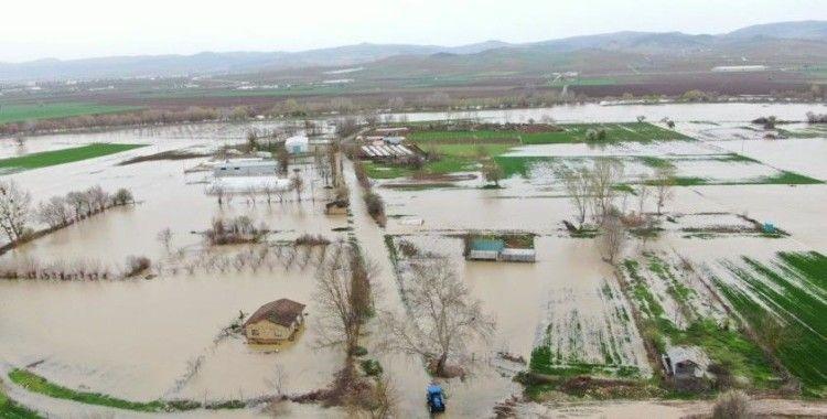 Bursa'da 35 bin dönüm arazi sular altında