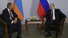 Putin'le görüşen Paşinyan: Rus barış gücünün Karabağ'daki varlığı bölgedeki istikrarın en önemli unsuru haline geliyor