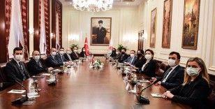 Adalet Bakanı Gül, Azerbaycan İnsan Hakları Komiseri Aliyeva ile görüştü