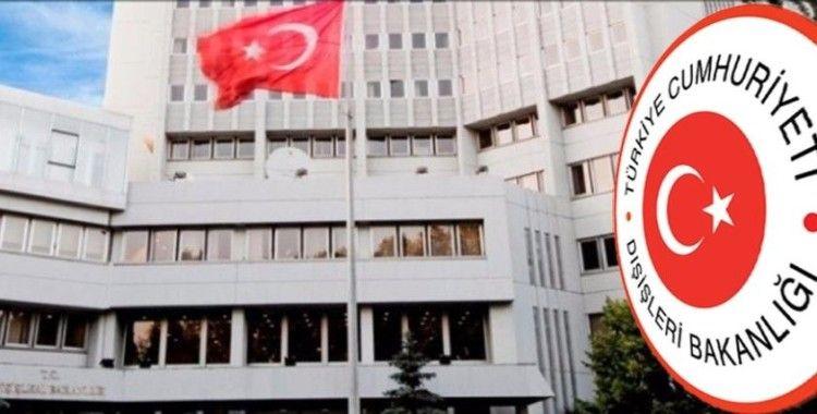 Dışişleri Bakanlığından Yunan Dışişleri Bakan Vekili Varviçyotiş'e kınama