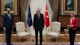 AB-Erdoğan görüşmesinde kanape-gate artçısı yaşanıyor: Avrupa Komisyonu, kadın başkanın ayakta kalmasını eleştirdi