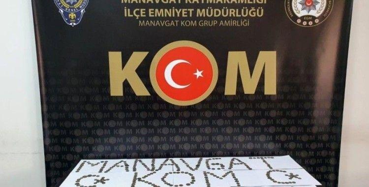 Antalya'da Bizans ve Roma dönemlerine ait 440 adet sikke ele geçirildi