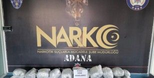 Adana'da narkotik operasyonu