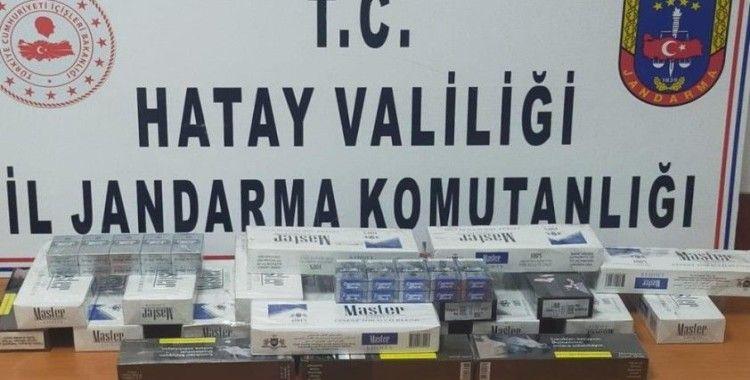 Hatay'da 226 paket kaçak sigara ele geçirildi