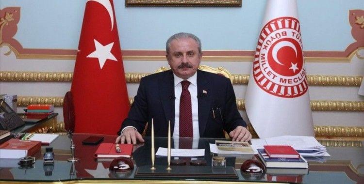 TBMM Başkanı Şentop, Kuveyt Dışişleri Bakanı El Sabah'ı kabul etti