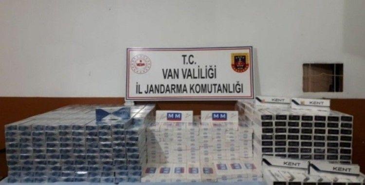 Başkale'de 10 bin 420 paket kaçak sigara ele geçirildi