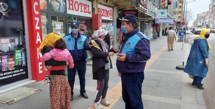 Kars'ta zabıta dilencileri topladı