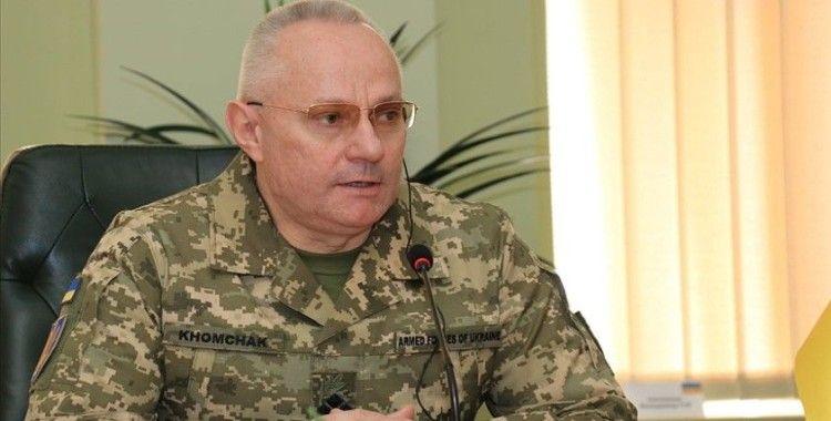 Ukrayna Genelkurmay Başkanı Homçak: Ukrayna'nın Donbas'ta saldırıya hazırlandığını iddia eden açıklamalar gerçek değil