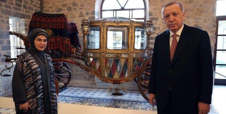 Cumhurbaşkanı Erdoğan, açılışı yapılan Beykoz Cam ve Billur Müzesi için 'Hayırlı olsun' mesajı paylaştı