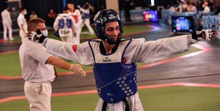 Milli tekvandocu Hakan Reçber Avrupa şampiyonu oldu