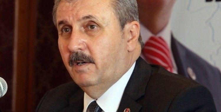BBP Genel Başkanı Destici'den Adalet Bakanı Gül'e başsağlığı mesajı