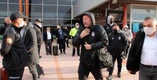 Beşiktaş kafilesi Erzurum'da