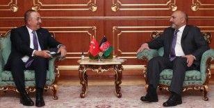 Dışişleri Bakanı Çavuşoğlu, Afgan mevkidaşı Atmar'la görüştü