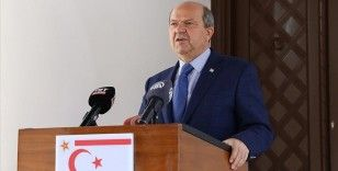 KKTC Cumhurbaşkanı Tatar: İki devletli bir çözüme doğru gidilmeli