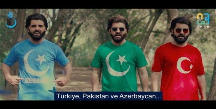 Pakistanlı sanatçı 'Türkiye-Azerbaycan-Pakistan' arasındaki kültürel bağlara dikkati çekmek için şarkı besteledi