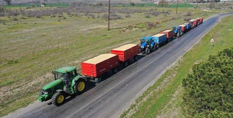 Edirne'de üreticiler ellerindeki çeltikleri TMO'ya getirmeye başladı