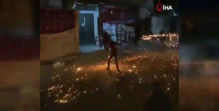 Gazze'de gençlerin Ramazan sevinci