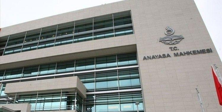 AYM'nin 11 siyasi partinin mali denetimlerine ilişkin kararları Resmi Gazete'de yayımlandı