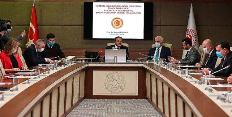 TBMM Küresel İklim Değişikliği Araştırma Komisyonu toplandı