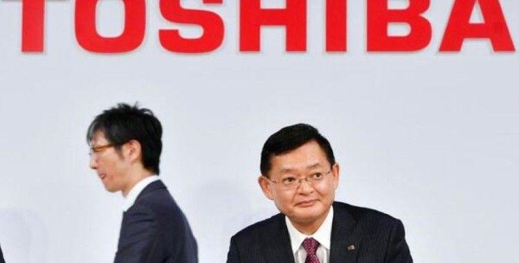 Toshiba CEO'su görevinden ayrıldı