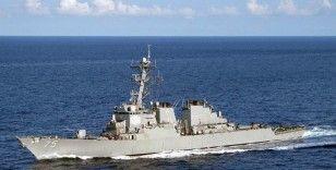 ABD'nin Karadeniz'e gönderdiği savaş gemilerinden biri Yunanistan'a ulaştı