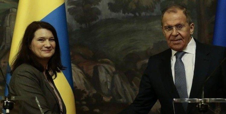Rusya Dışişleri Bakanı Lavrov ve AGİT Dönem Başkanı Linde, Ukrayna'nın doğusundaki durumu görüştü