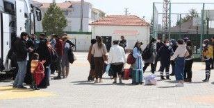 Testi pozitif çıkan yolcunun bulunduğu otobüsteki 47 kişi karantinaya alındı