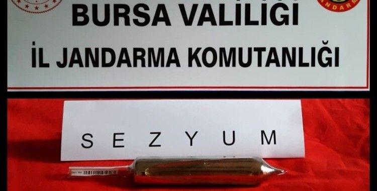 Bursa'da radyoaktif madde operasyonu...