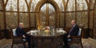 Cumhurbaşkanı Erdoğan ile MHP Lideri Bahçeli iftarda bir araya geldi