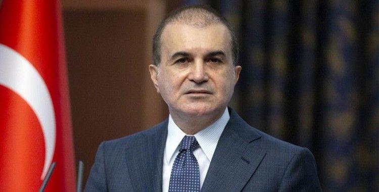 AK Parti Sözcüsü Çelik: 'Kim olursa olsun, bir devletin tezleri yalanla ve bağnazlıkla savunulamaz'
