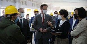 AB Türkiye Delegasyonu Başkanı Büyükelçi Meyer-Landrut, Mardin'de gençlerle bir araya geldi
