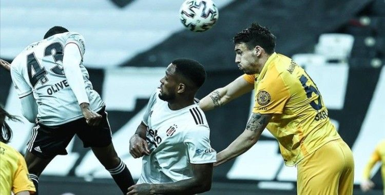 Beşiktaş, Ankaragücü ile 2-2 berabere kaldı