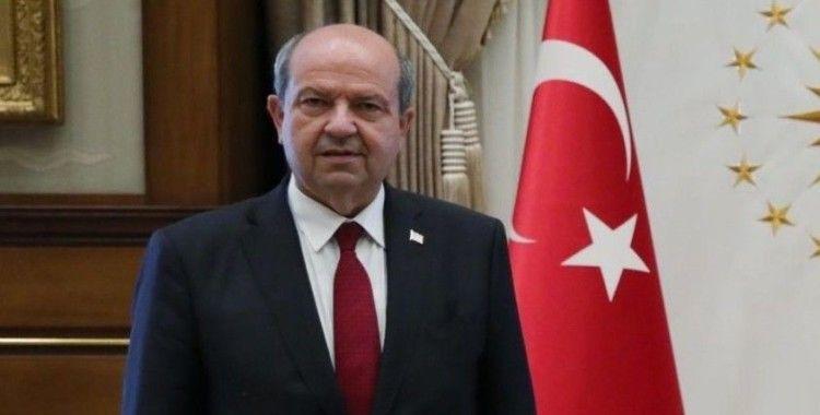 KKTC Cumhurbaşkanı Tatar: Egemenliğimiz, bağımsızlığımız ve Türkiye'mizin garantörlüğü vazgeçilmez unsurlardır