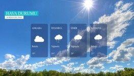 Yarın kara ve denizlerimizde hava nasıl olacak? 20 Nisan 2021 Salı