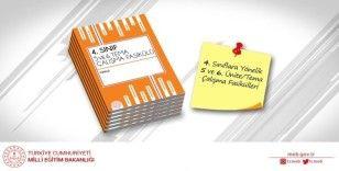4. sınıf öğrencileri için hazırlanan çalışma fasiküllerinin 5. ve 6. üniteleri yayınlandı
