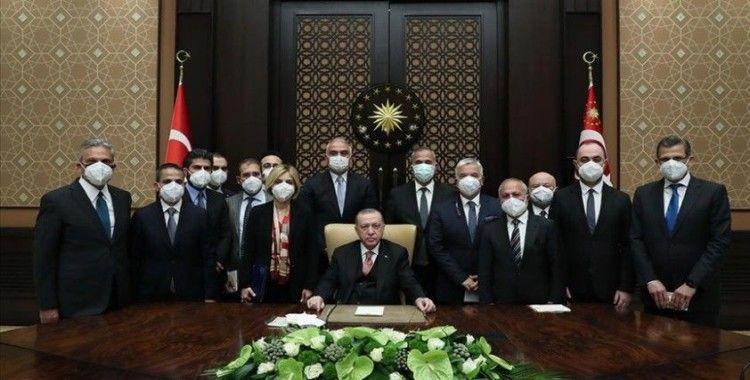 Cumhurbaşkanı Erdoğan'dan kısa çalışma ödeneği açıklaması